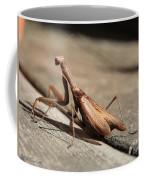 Praying Mantis Coffee Mug