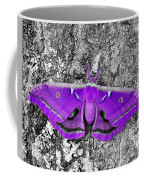 Purple Polyphemus Coffee Mug