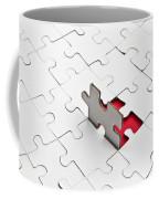 Puzzle Coffee Mug by Joana Kruse