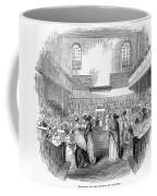 Quaker Meeting, 1843 Coffee Mug