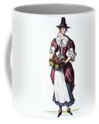 Quaker Woman 17th Century Coffee Mug by Granger