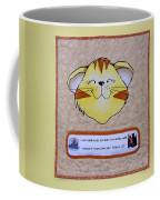Quilted Cat  Coffee Mug