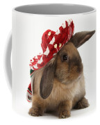 Rabbit Wearing A Hat Coffee Mug