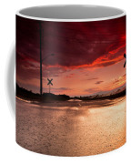 Railroad Sunset Coffee Mug