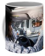 Rear-view Mirror Coffee Mug