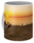 Reculver Sunset Coffee Mug