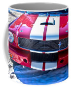Red 1966 Ford Mustang Shelby Coffee Mug