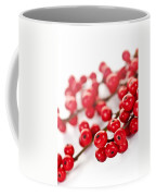 Red Christmas Berries Coffee Mug