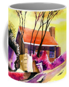 Red House Coffee Mug by Anil Nene