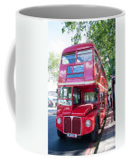 Red London Bus Coffee Mug