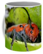 Red Milkweed Beetle Coffee Mug
