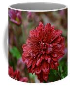 Red Petals Coffee Mug