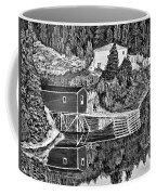 Reflections B W Coffee Mug by Barbara Griffin