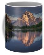 Reflections On Mount Moran Coffee Mug