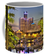 Renaissance Center Detroit Mi Coffee Mug