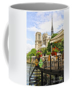 Restaurant On Seine Coffee Mug
