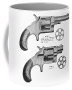 Revolvers, 19th Century Coffee Mug