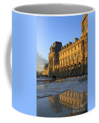 Richelieu Wing Of The Louvre Museum In Paris Coffee Mug