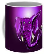 Ringo Party Animal Purple Coffee Mug