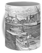 River Thames Art Coffee Mug
