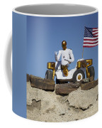 Robonaut 2 Poses Atop Its New Wheeled Coffee Mug by Stocktrek Images