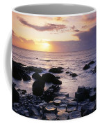 Rocks On The Beach, Giants Causeway Coffee Mug