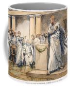 Roman Senate: Catiline Coffee Mug