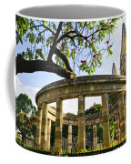 Rotunda Of Illustrious Jalisciences And Guadalajara Cathedral Coffee Mug
