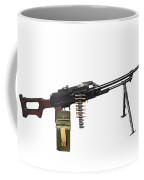Russian Pkm General-purpose Machine Gun Coffee Mug by Andrew Chittock