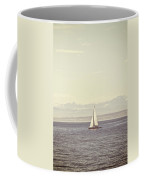 Sailing Boat Coffee Mug by Joana Kruse