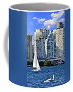 Sailing In Toronto Harbor Coffee Mug