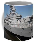Sailors Man The Rails Coffee Mug