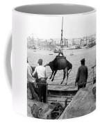 San Juan Harbor - Puerto Rico - C 1900 Coffee Mug