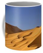 Sand Dune Against Clear Sky Coffee Mug