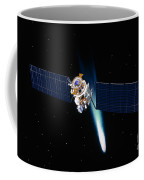 Satellite In Outer Space Coffee Mug