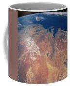 Satellite View Of Planet Earth Coffee Mug