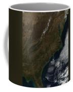 Satellite View Of The Southeastern Coffee Mug