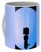 Schlieren Image Of A Hot Light Bulb Coffee Mug