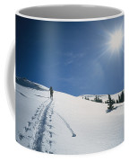 Scott Cooper Backcountry Skiing Coffee Mug