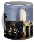 Sea Based X-band Radar Dome Modeled Coffee Mug
