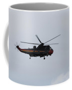 Sea King Helicopter Of The Belgian Army Coffee Mug by Luc De Jaeger