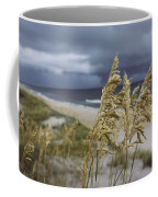Sea Oats Uniola Panicolata Help Anchor Coffee Mug by David Alan Harvey