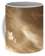 Sepia Clouds Coffee Mug
