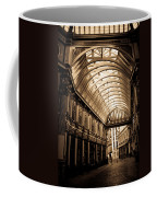 Sepia Toned Image Of Leadenhall Market London Coffee Mug