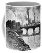 Sheffield, England, 1884 Coffee Mug