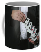 Shuffling Cards Coffee Mug