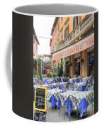 Sidewalk Cafe In Italy Coffee Mug