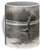 Silent Film Still: Cowboys Coffee Mug