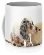 Silver Double Dapple Dachshund Pup Coffee Mug