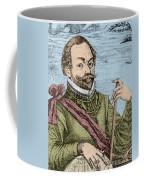 Sir Francis Drake, English Explorer Coffee Mug